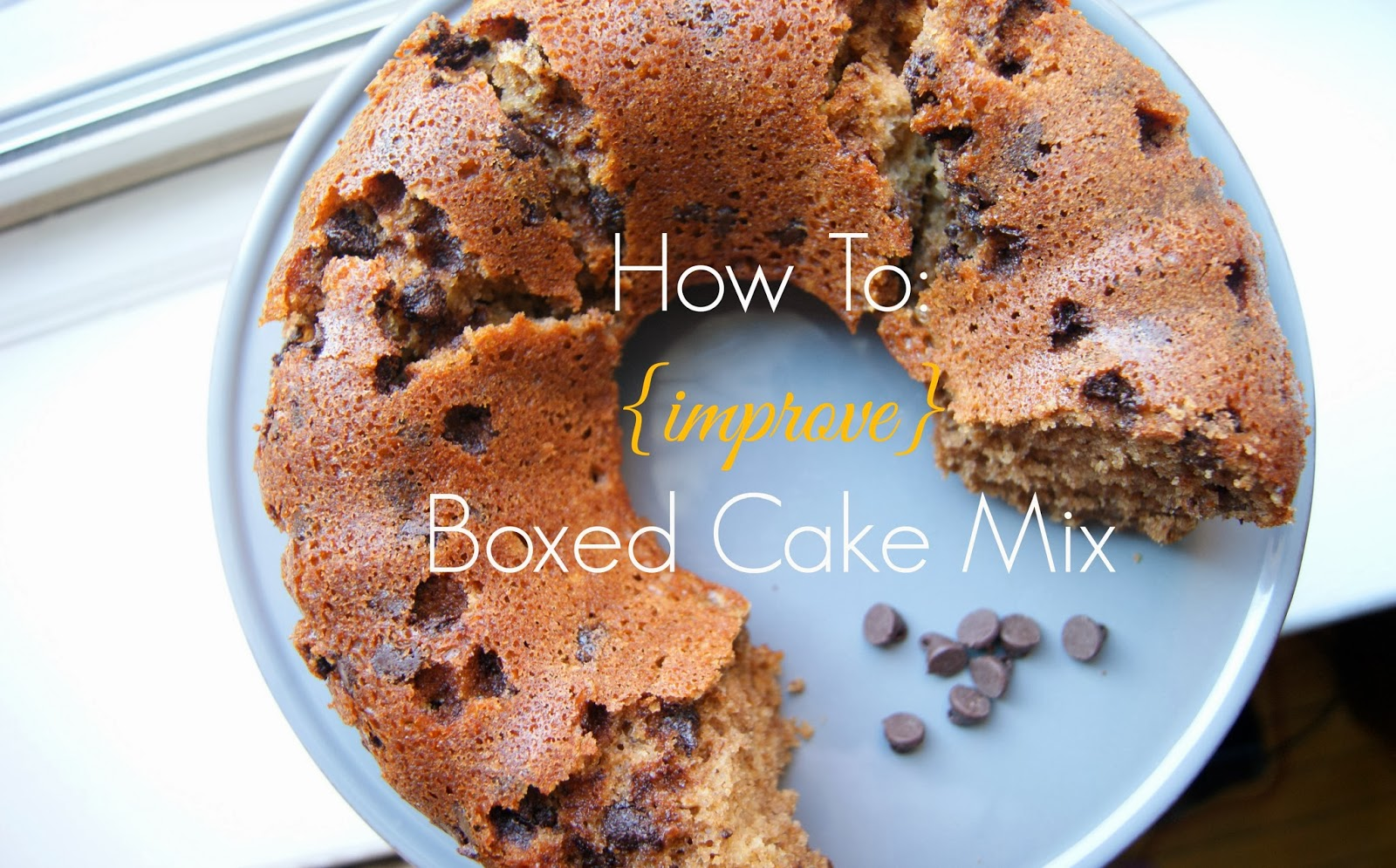 How To Improve Boxed Cake