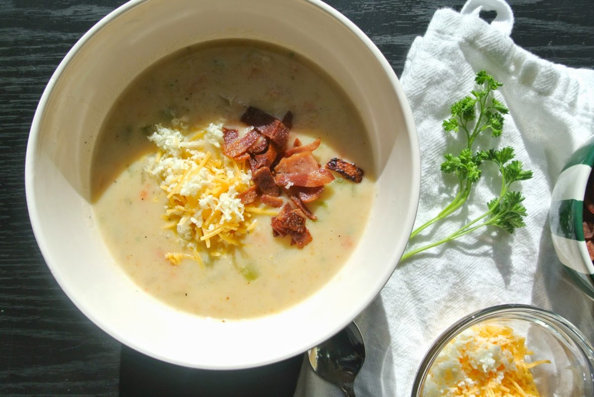 The Perfect Potato Soup | Eat.Drink.Frolic.