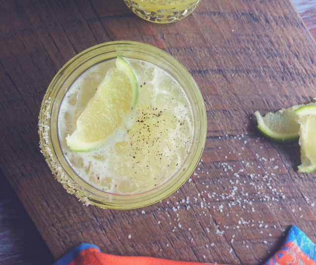 Perfect margarita for someone who enjoys sweet cocktails with a kick.