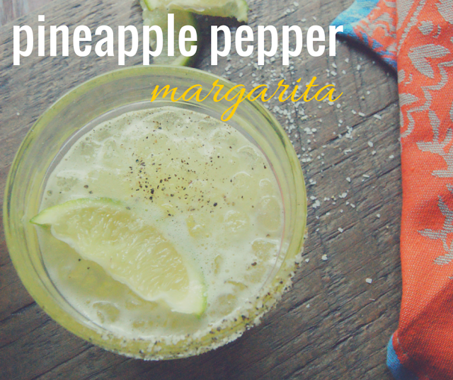 A sweet and subtly spicy margarita perfect for summer.