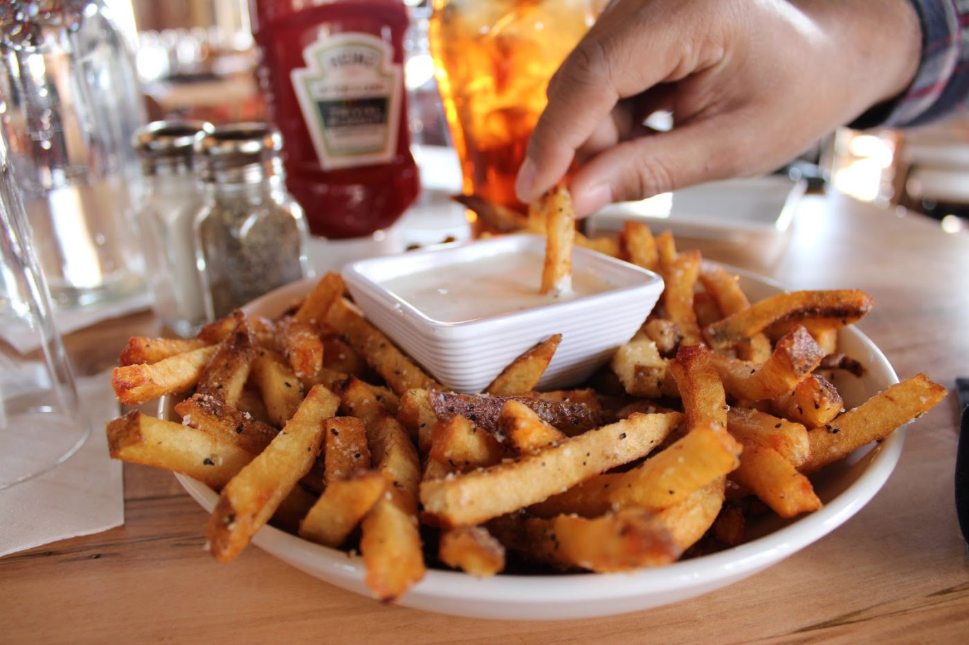 National french fry day in chattanooga eatdrinkolic another place that offers elevated french fry flavors stir also has truffle parmesan fries and theyre absolutely delicious grab an order of their fries solutioingenieria Images