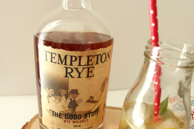 Templeton Rye whiskey is located in Templeton, Iowa and is a smooth whiskey with hints of grassy flavors.