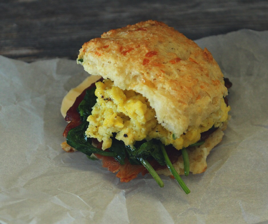 Easy cheesy breakfast biscuits | Eat.Drink.Frolic.