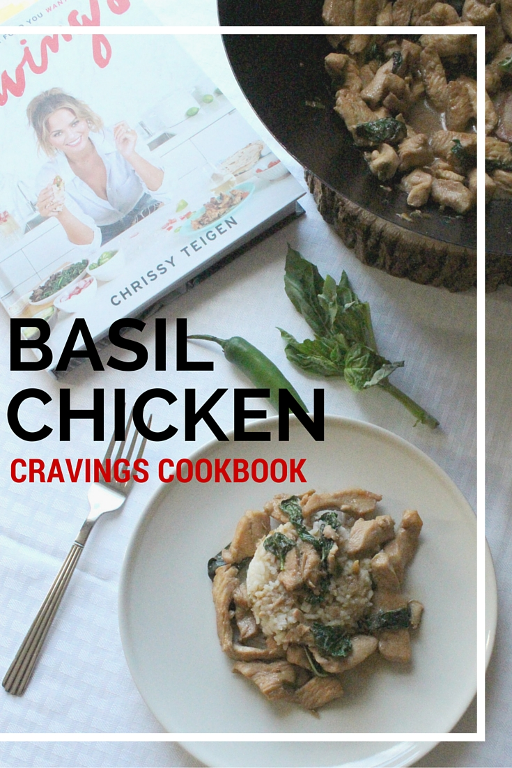 Chrissy Teigen's basil chicken is by far, one of the easiest recipes featured in her cookbook and it's delicious.