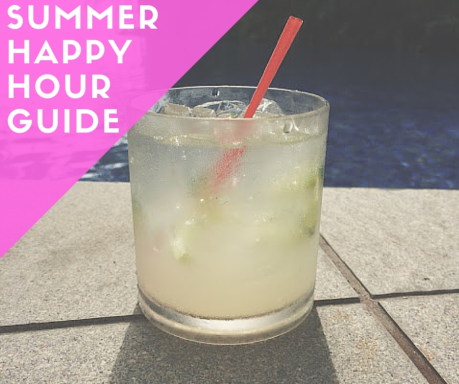 summer happy hour guide