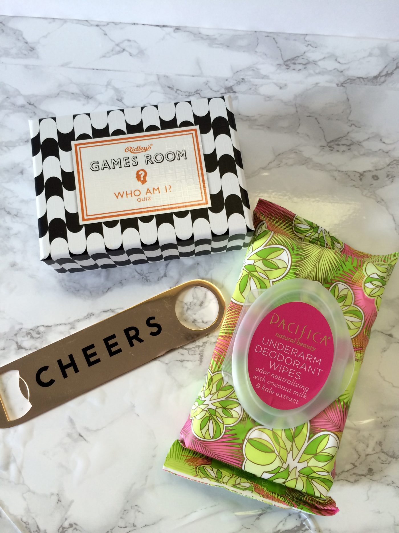 Three of my favorite items from June's PopSugar Must Have Box.
