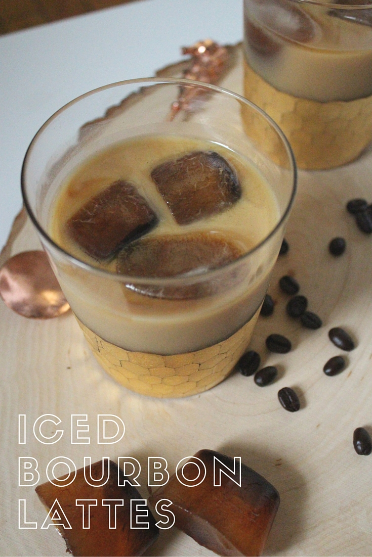 Pin this image to spike your coffee with a bourbon treat.