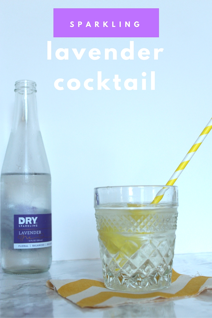 Pin this image to make your own refreshing lavender cocktail.