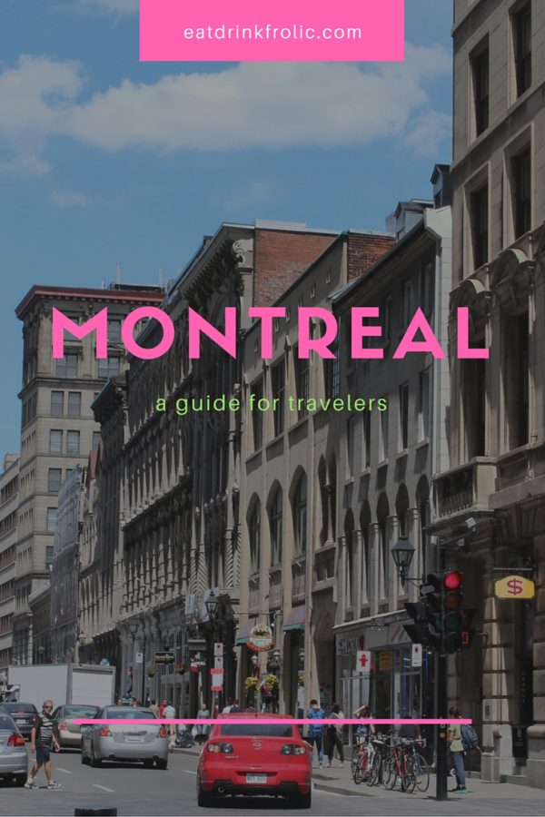 Pin this image to save my Montreal city guide.