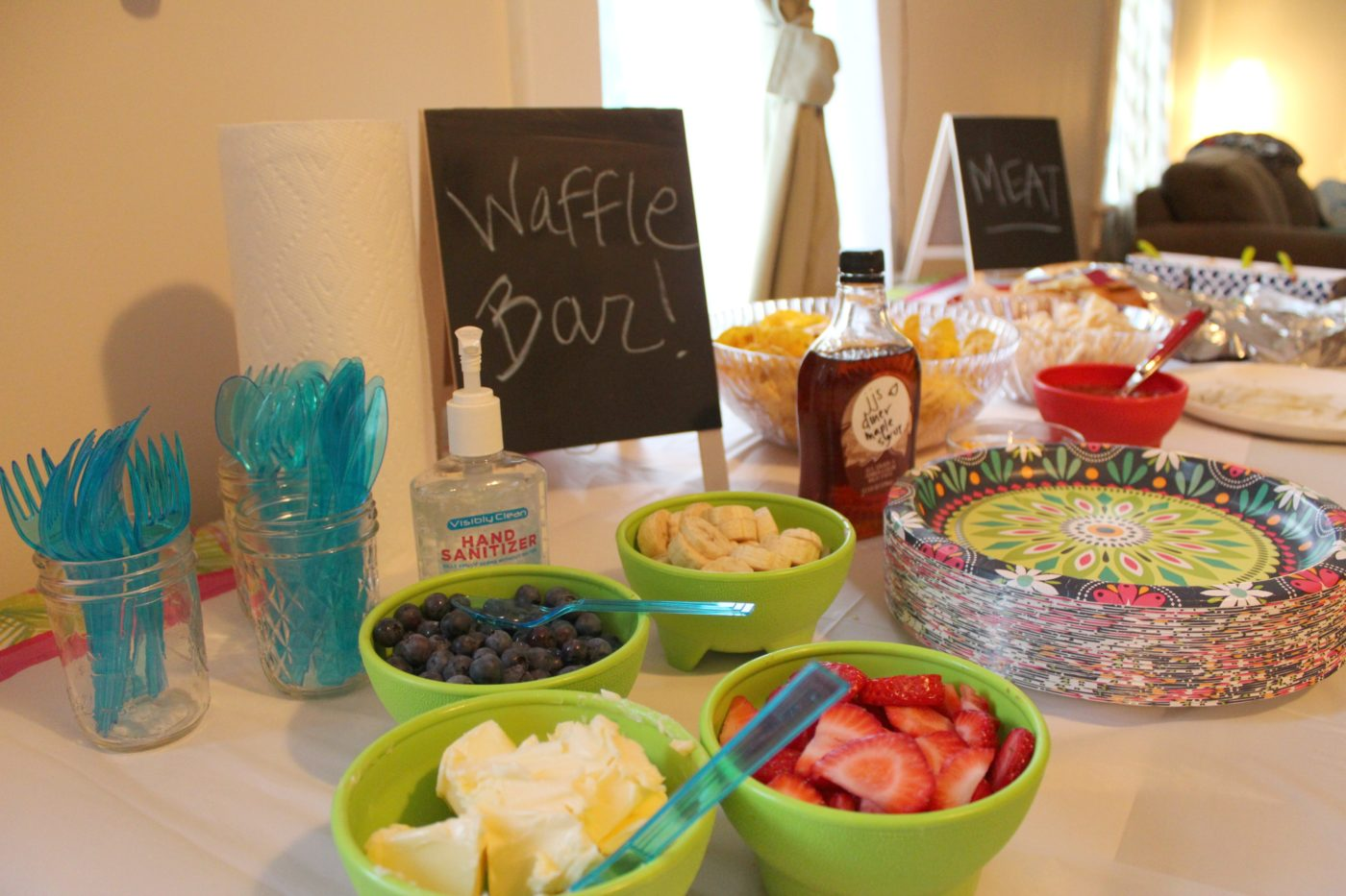 When throwing a Parks and Recreation party, you must have waffles; Leslie Knope loved waffles.