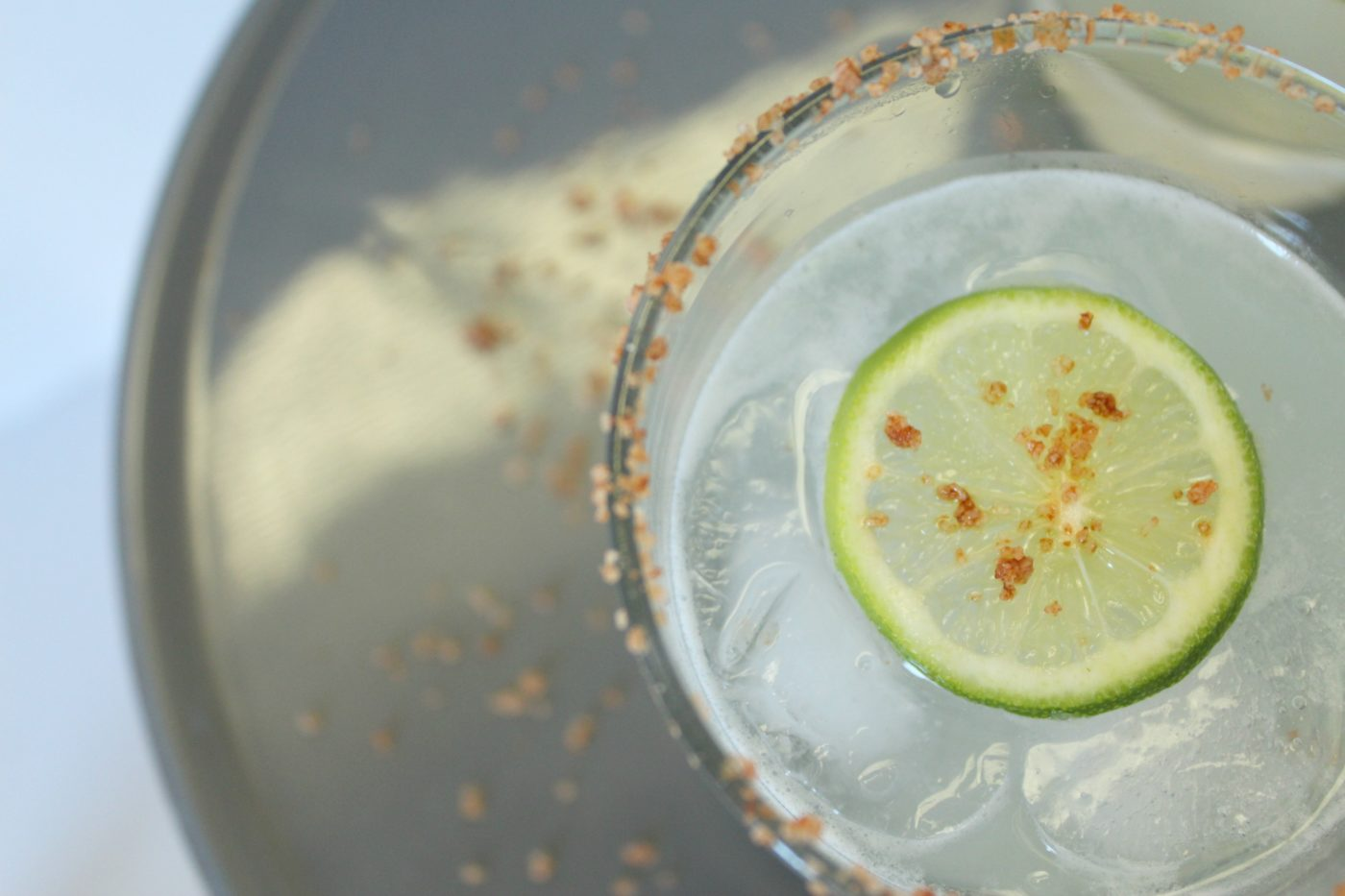 Here's an easy margarita recipe with a bit of a twist on the boring salt rims.