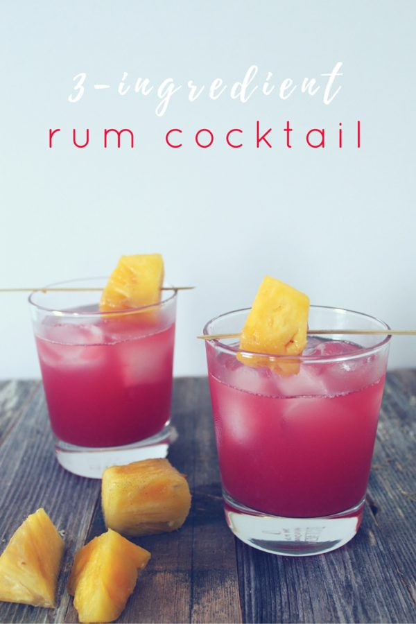 An easy rum cocktail to make you feel like you've stepped onto the beach.