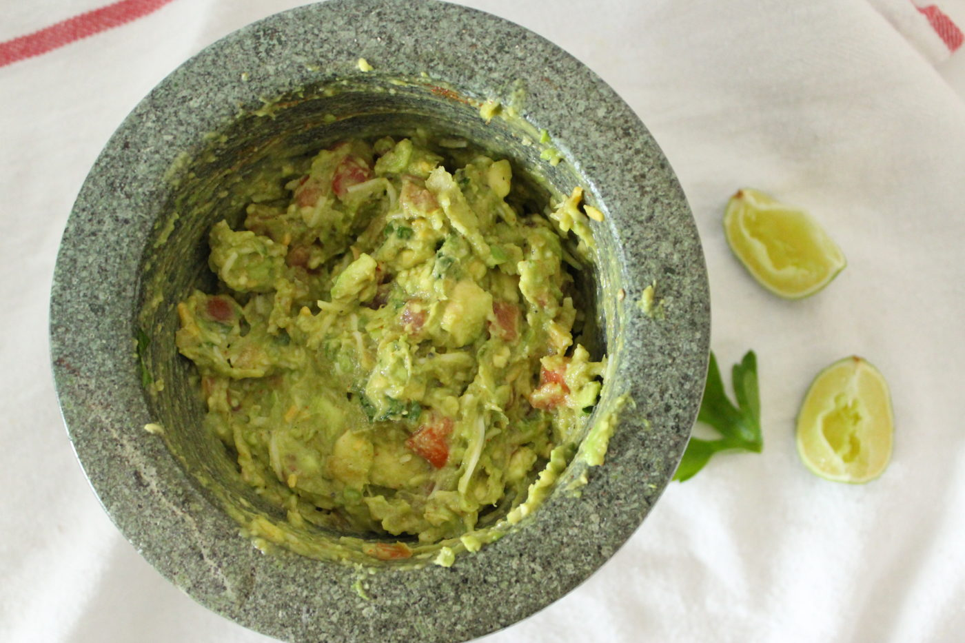 Guacamole hasn't been on my top foods to eat but I'm giving it a try by creating my own easy recipe.