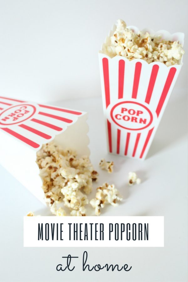 Making movie theater popcorn at home isn't as difficult as it may seem. Here's a really simple way to recreate the salty snack favorite.
