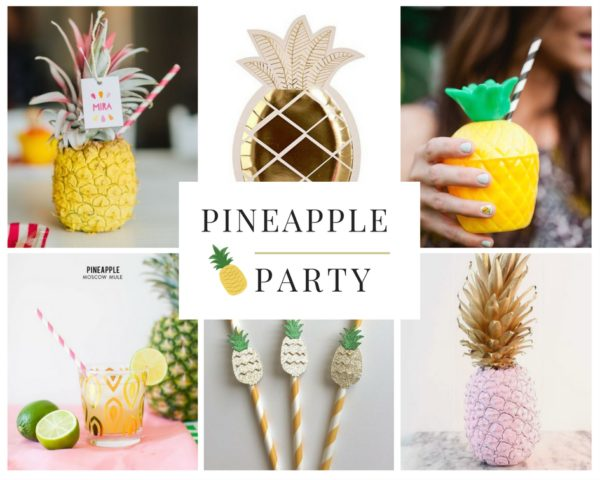 Planning a pineapple themed party is easy with a bit of inspiration.