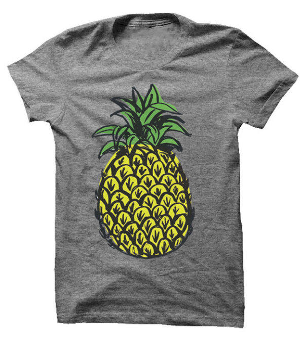 Summer isn't complete without a cute pineapple tee shirt.