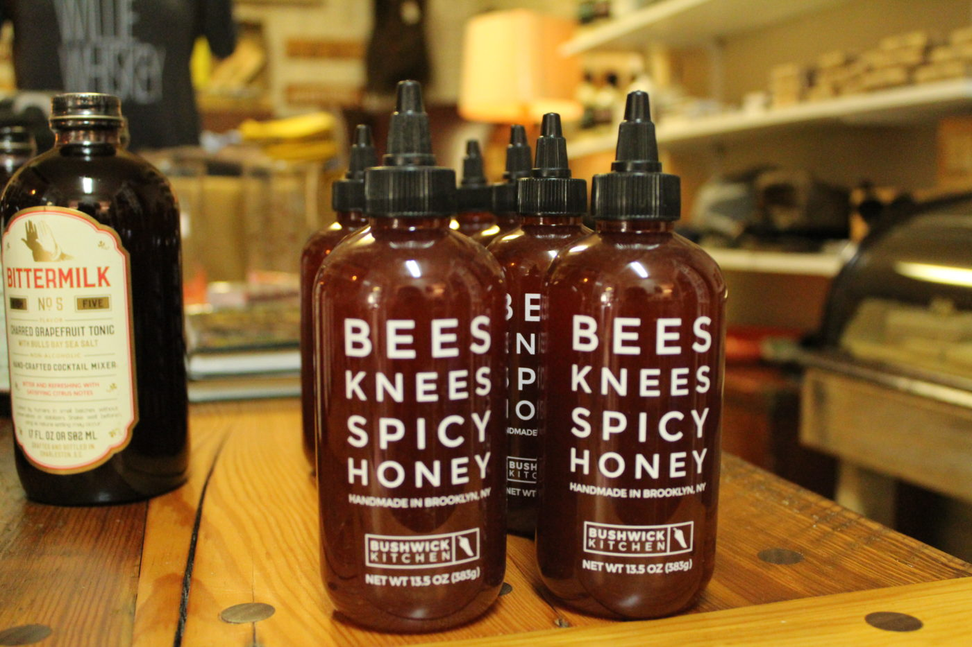 Bees Knees Spicy Honey from Bushwick Kitchen one of the many products carried in Refinery423 Mercantile.