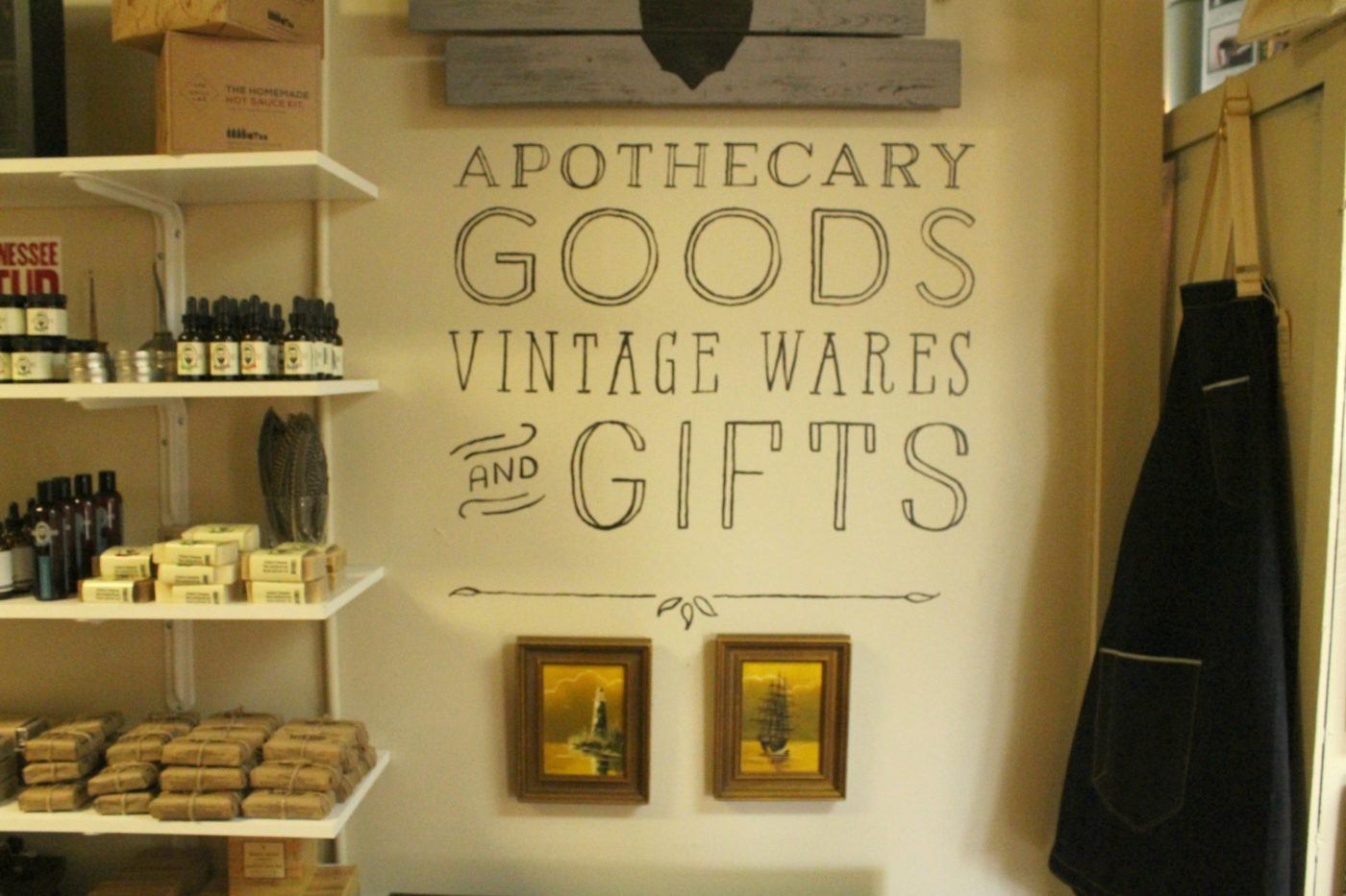 Find the best of apothecary goods along with vintage wares and gifts at Refinery423 Mercantile.