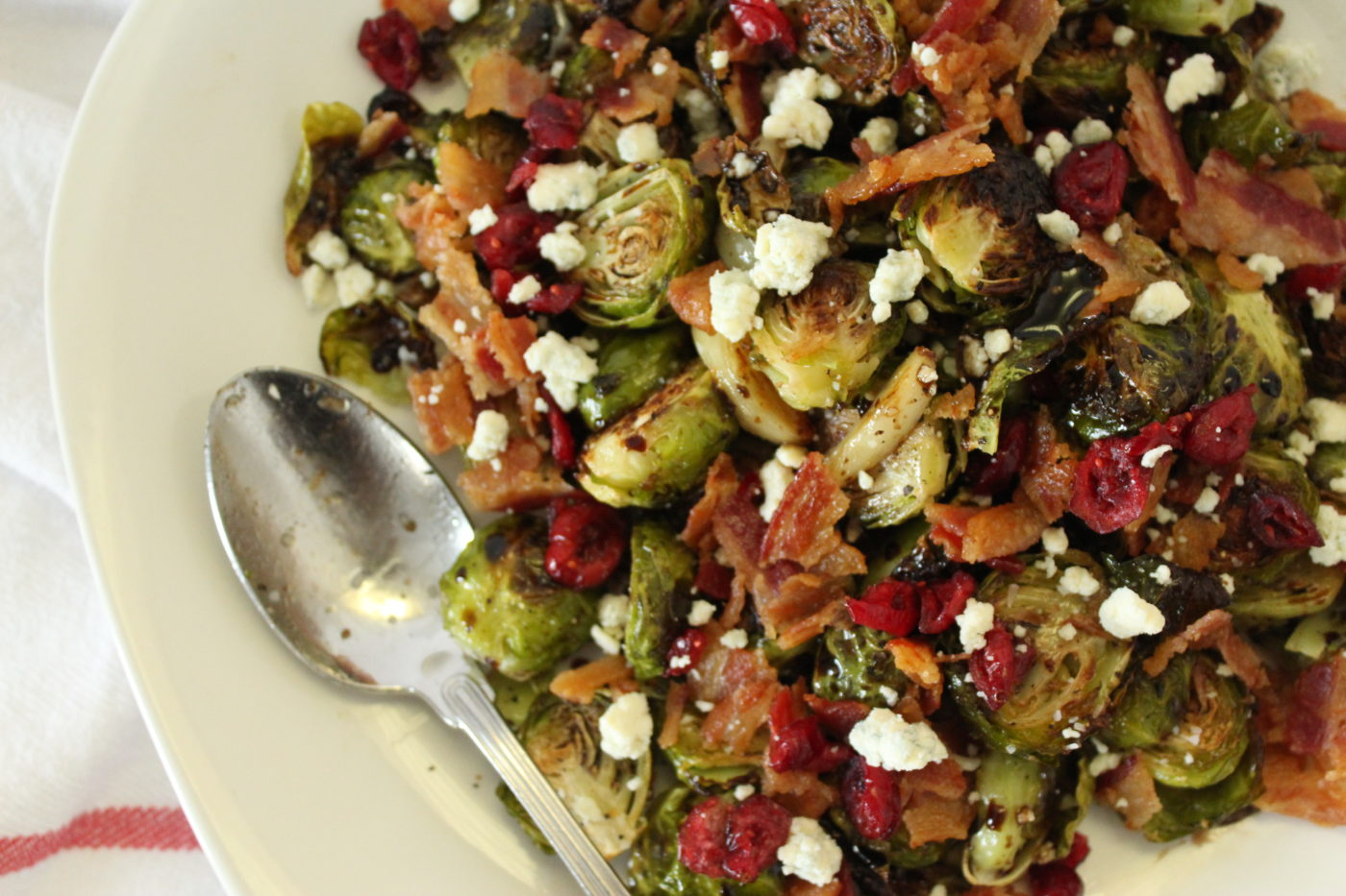Balsamic Glazed Roasted Brussels Sprouts Eat Drink Frolic