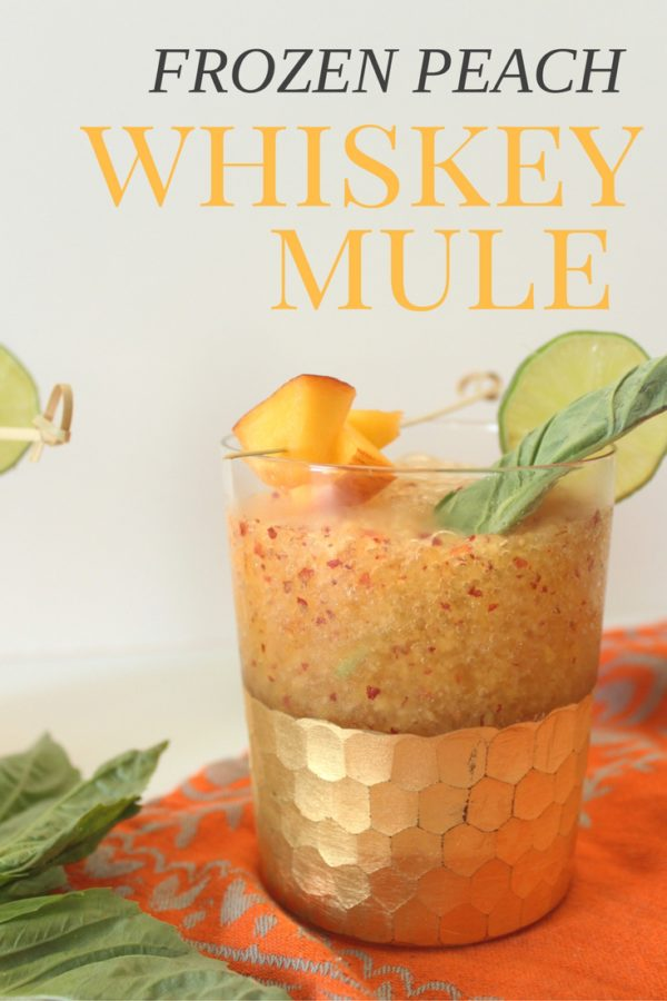 A classic Mosscow mule will always be a cocktail favorite but amping it up a bit and adding whiskey gives this classic cocktail an even bolder bite.