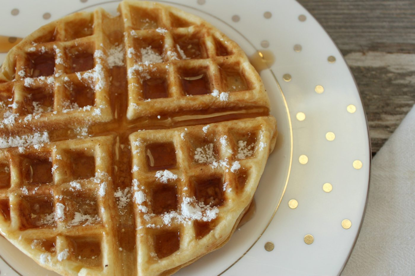 4 Ingredient Dutch Cream Waffle Recipe Eat Drink Frolic