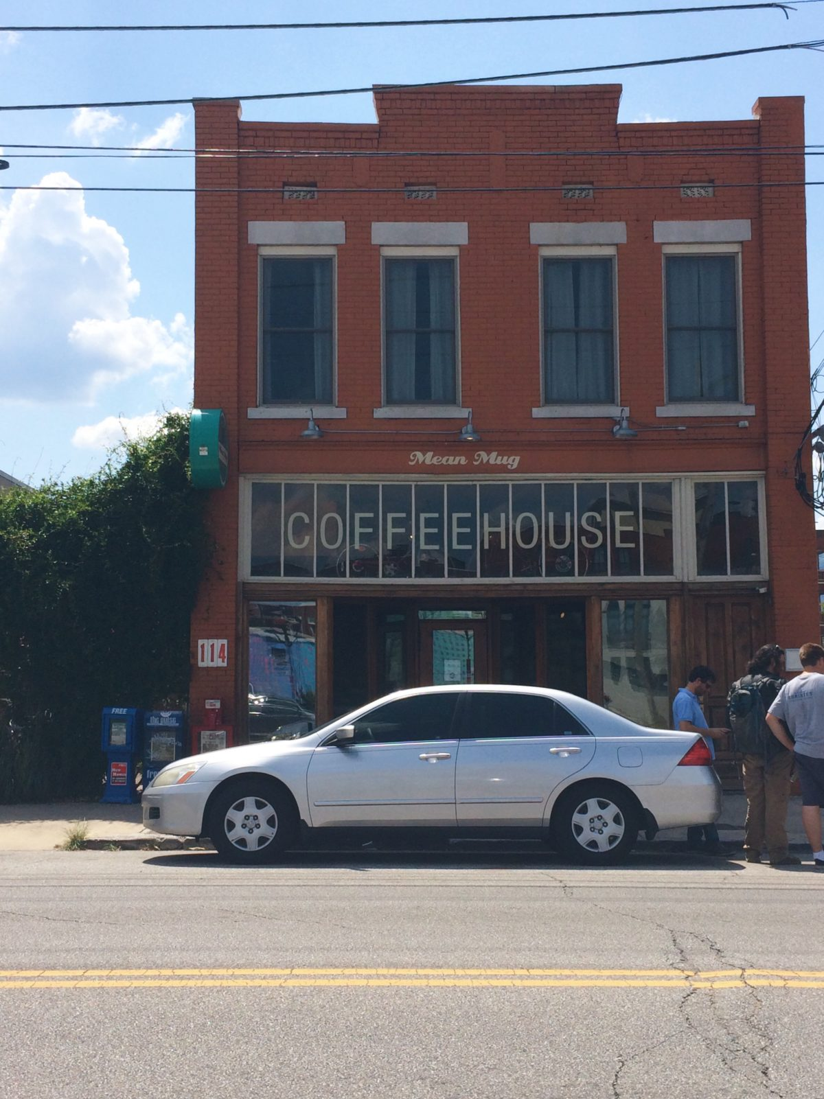 One of my favorite coffee shops in Chattanooga is Mean Mug Coffee. The atmostphere, the food and the people are all great.