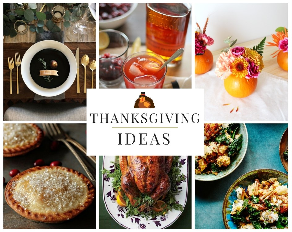 Here's a roundup of creative and unique ideas to jazz up your Thanksgiving dinner.