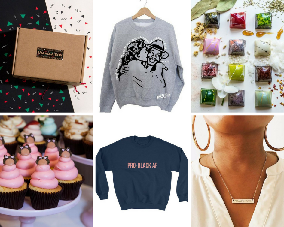 Black owned businesses holiday gift guide | Eat.Drink.Frolic.
