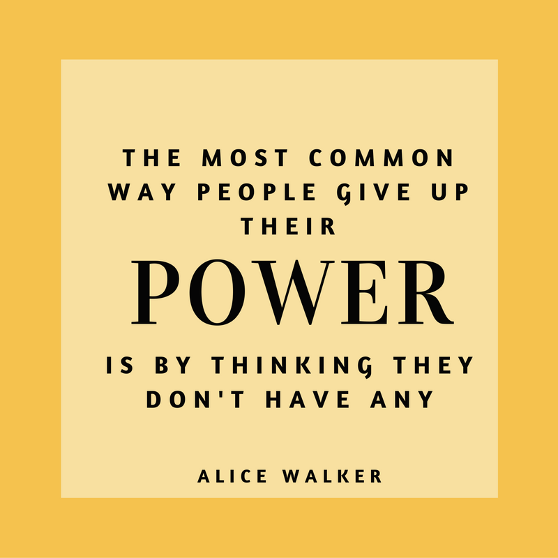 A quote by Alice Walker.