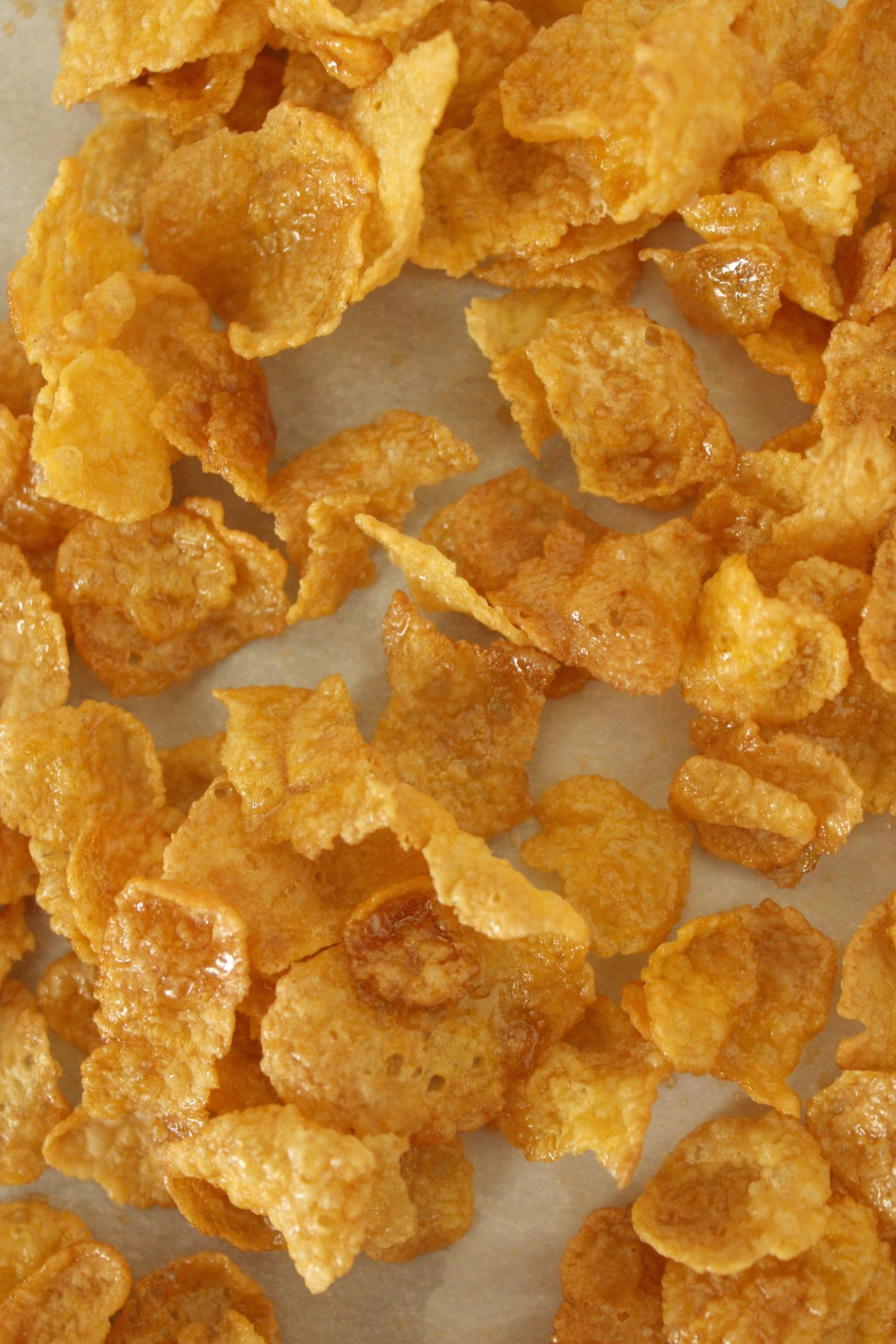 Maple glazed corn flakes from Whip it Up cookbook