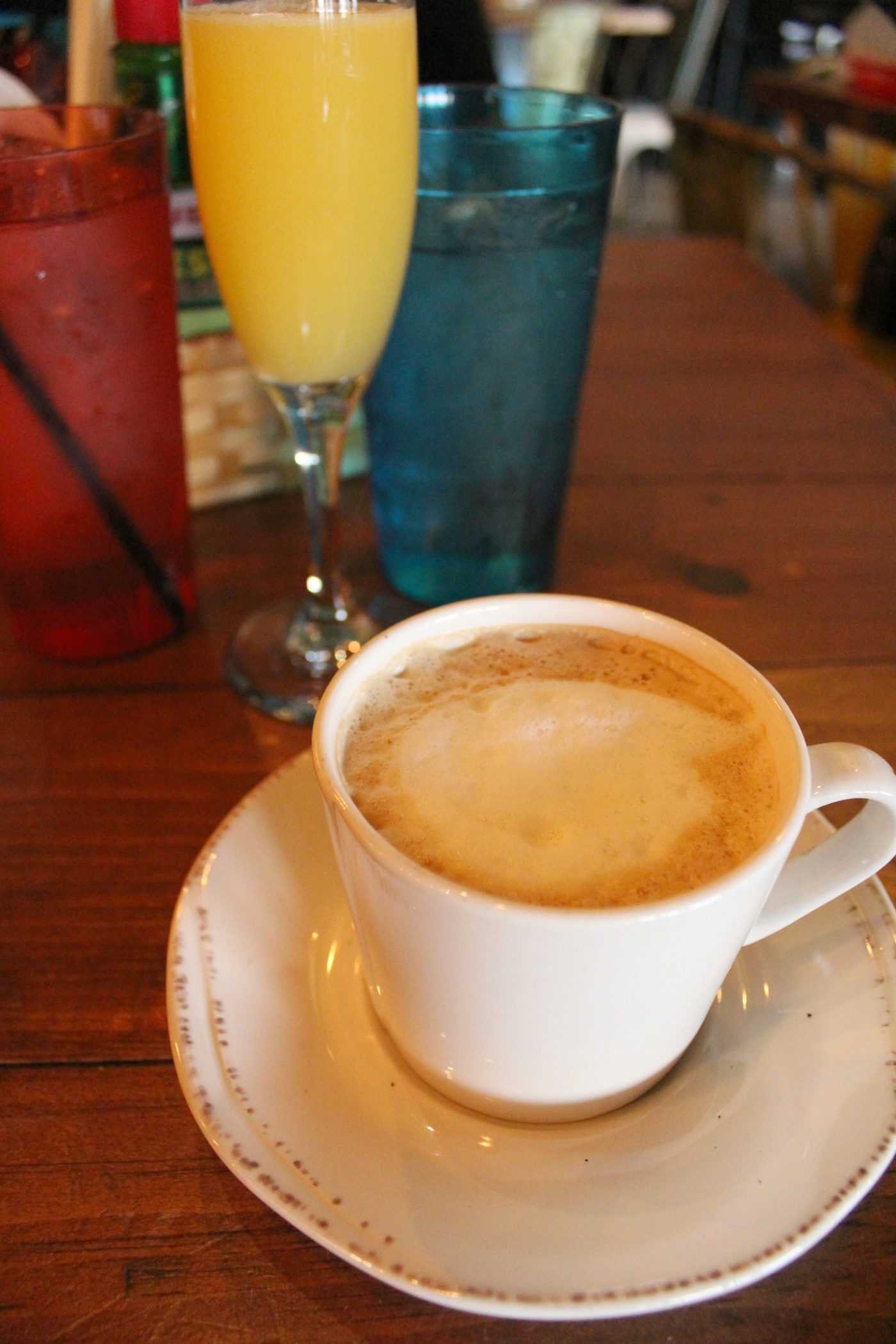 Brunch at Embargo 62 in Chattanooga, Tennessee.