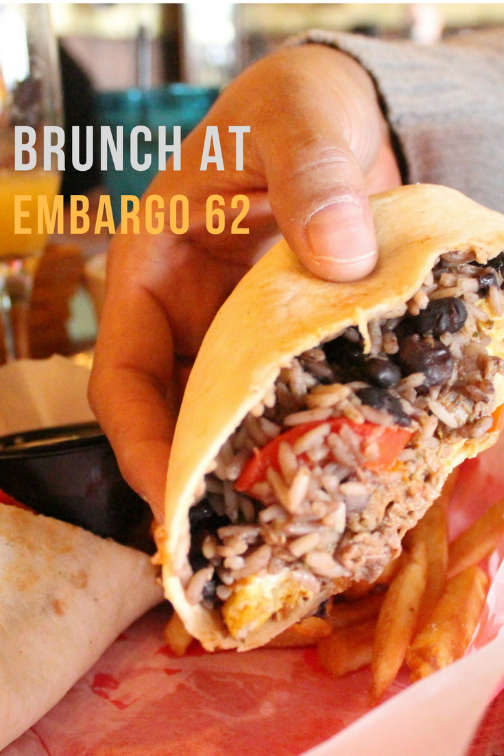 Embargo 62 has Sunday brunch.