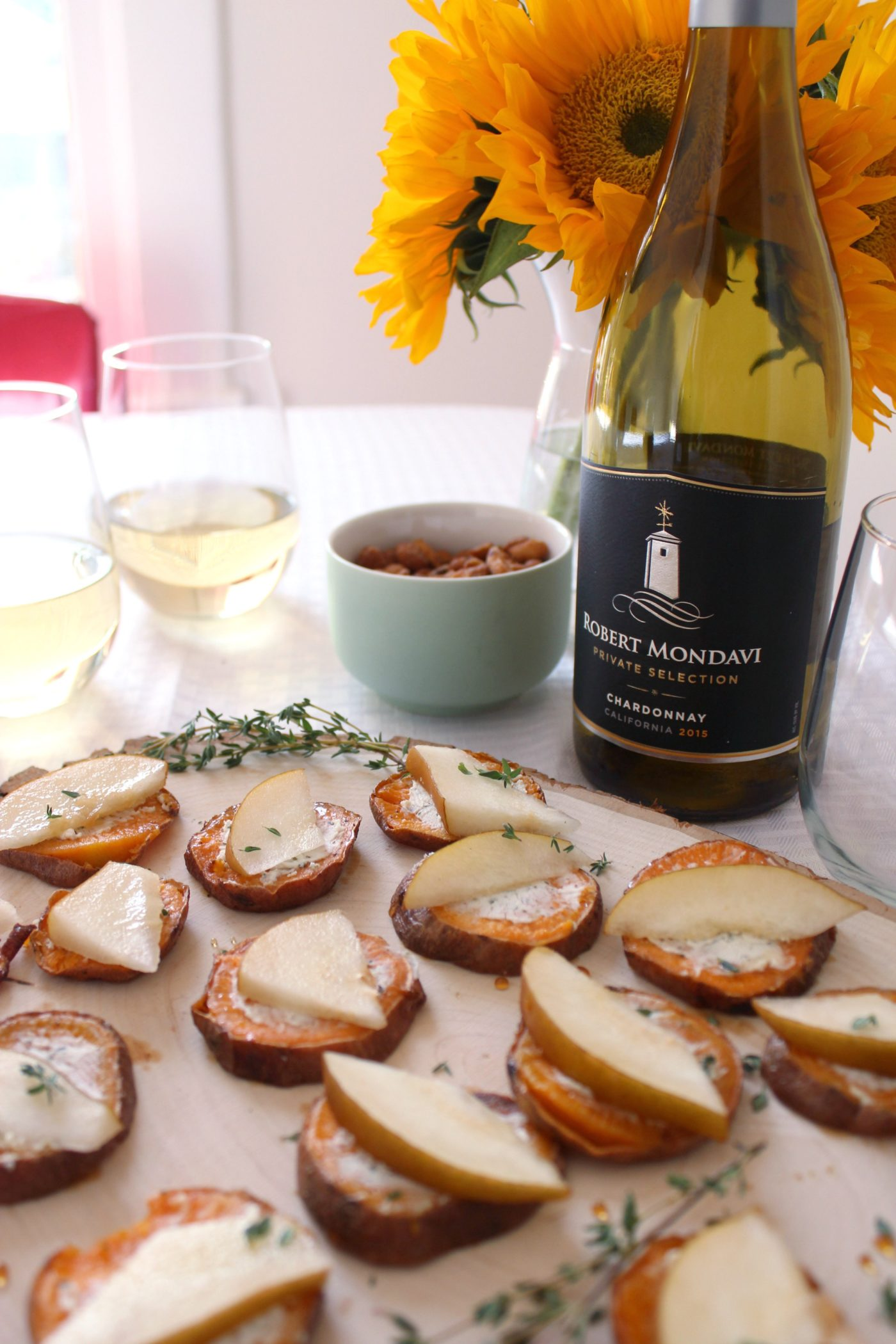 Entertaining at home with Robert Mondavi Private Selection.
