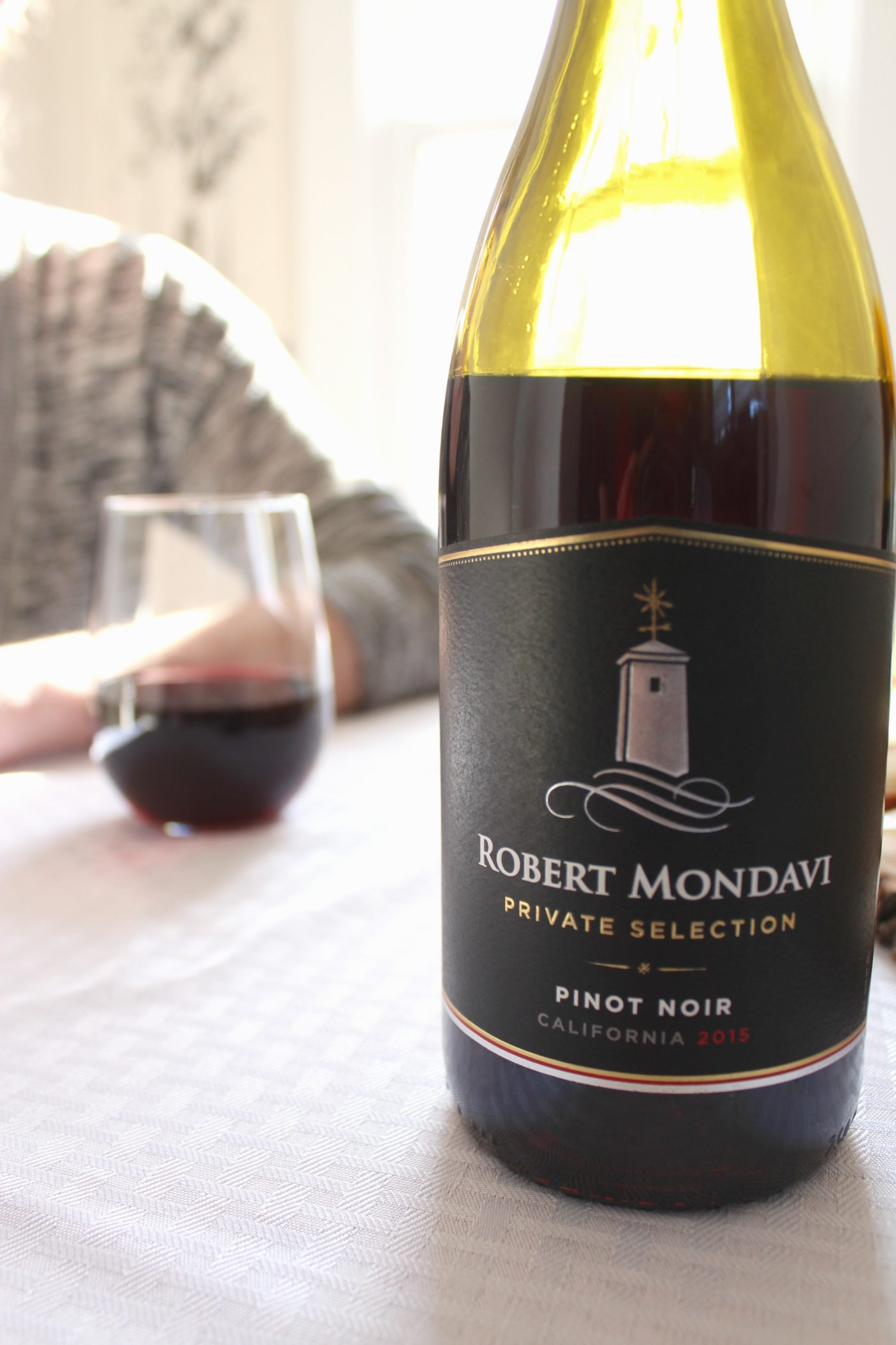 Robert Mondavi Private Selection Pinot Noir.