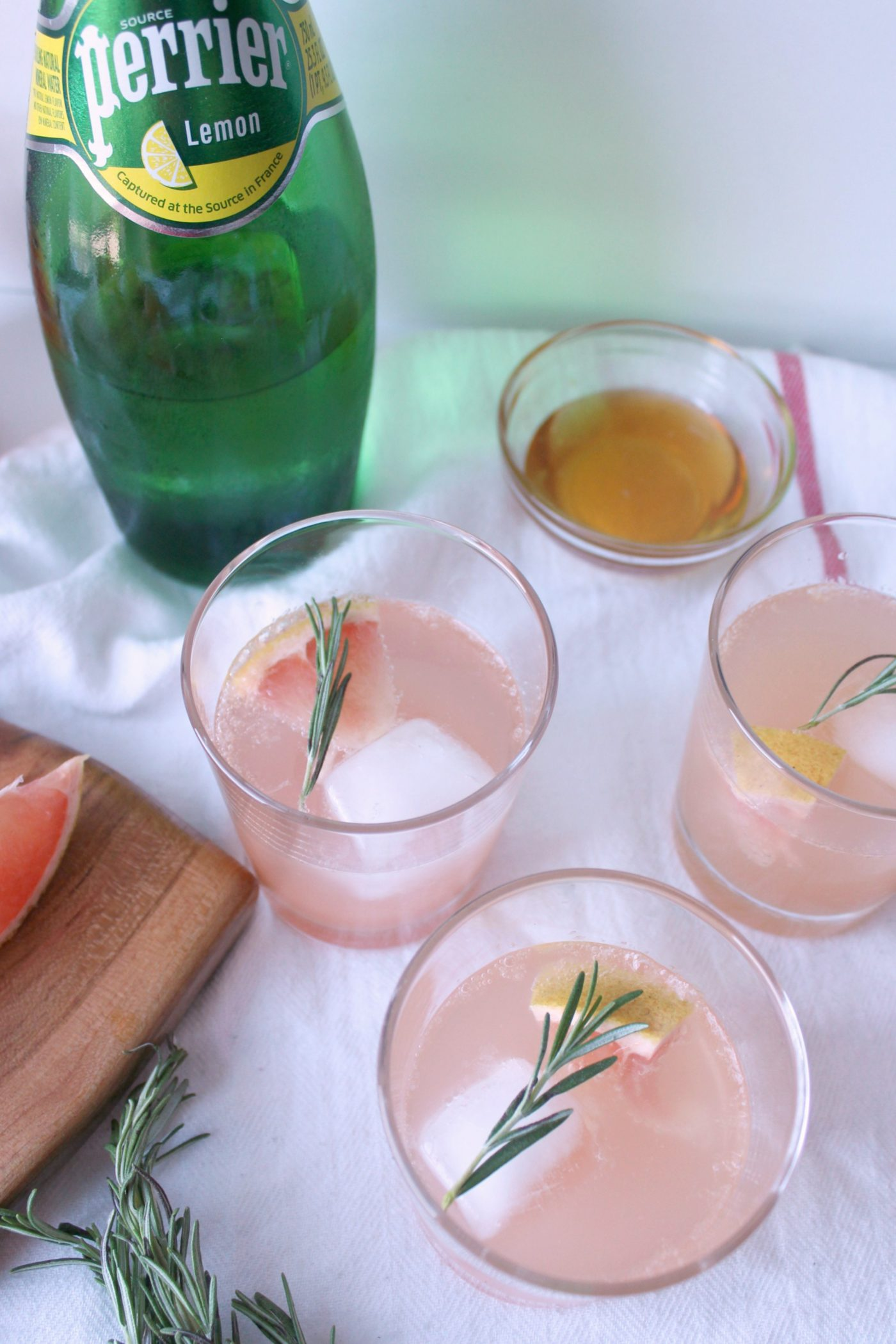 Here's an easy mocktail that's perfect on a hot summer day.