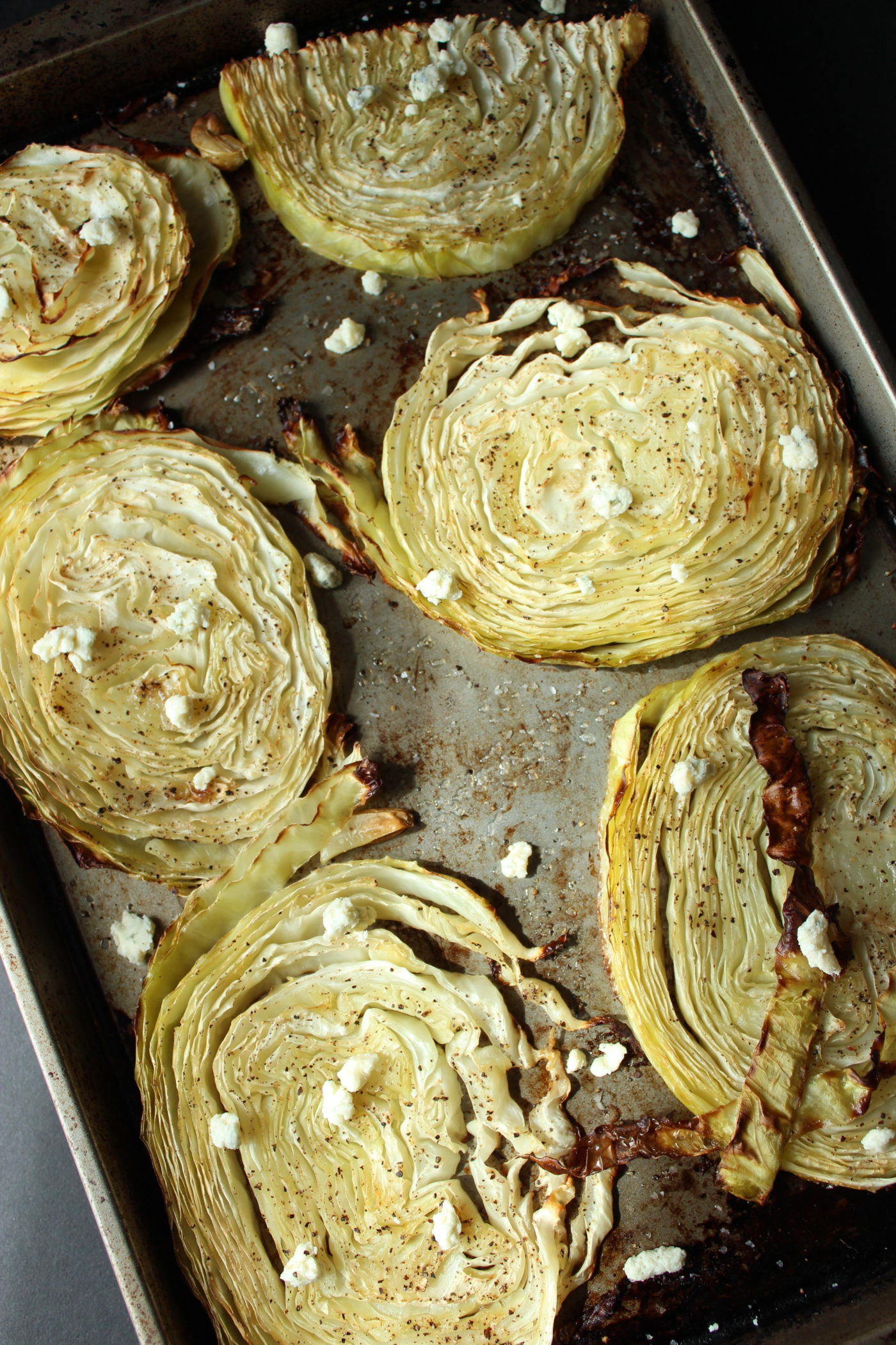 Try roasted cabbage if you need a simple veggie side dish.