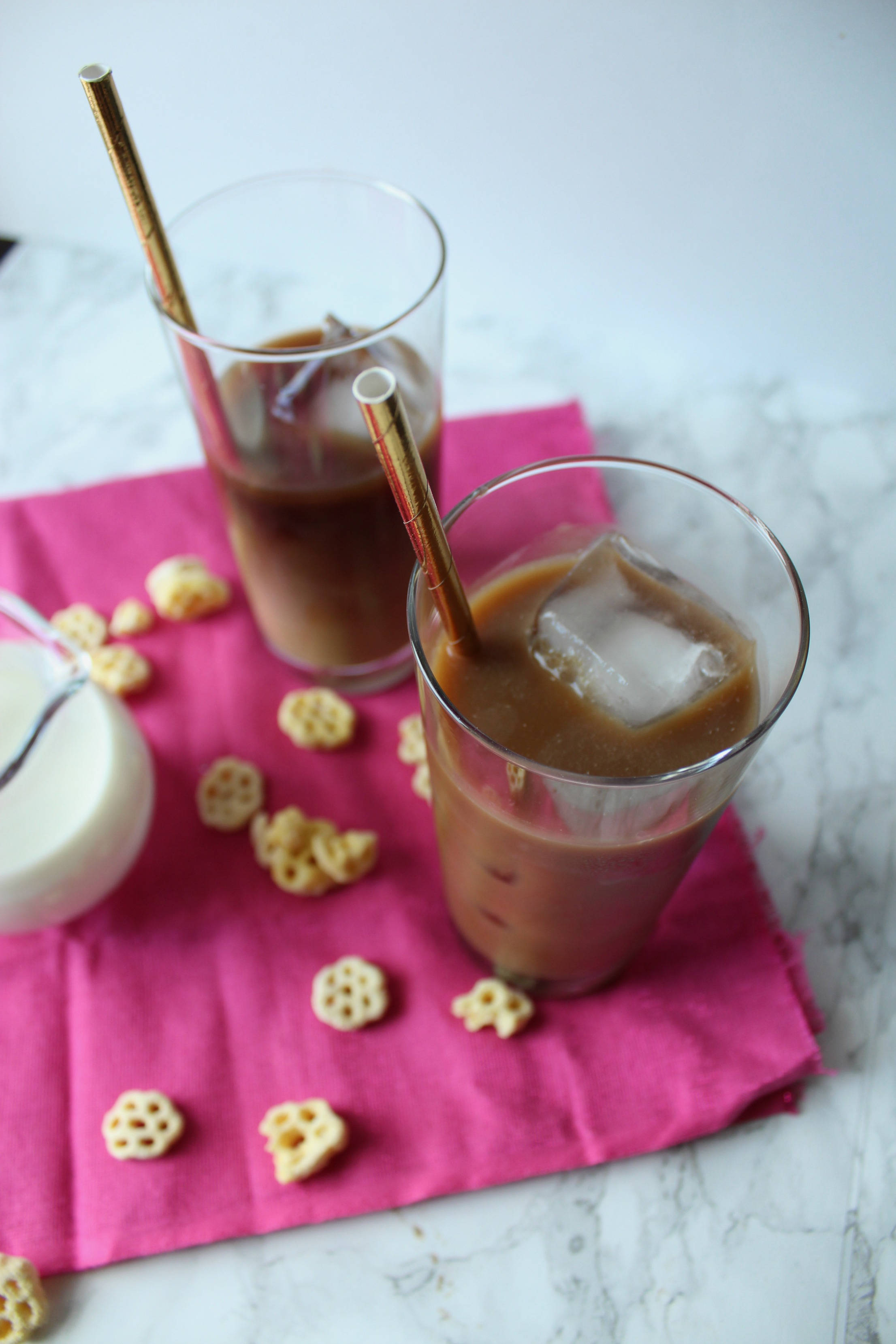 Iced cereal milk coffee | Eat.Drink.Frolic.