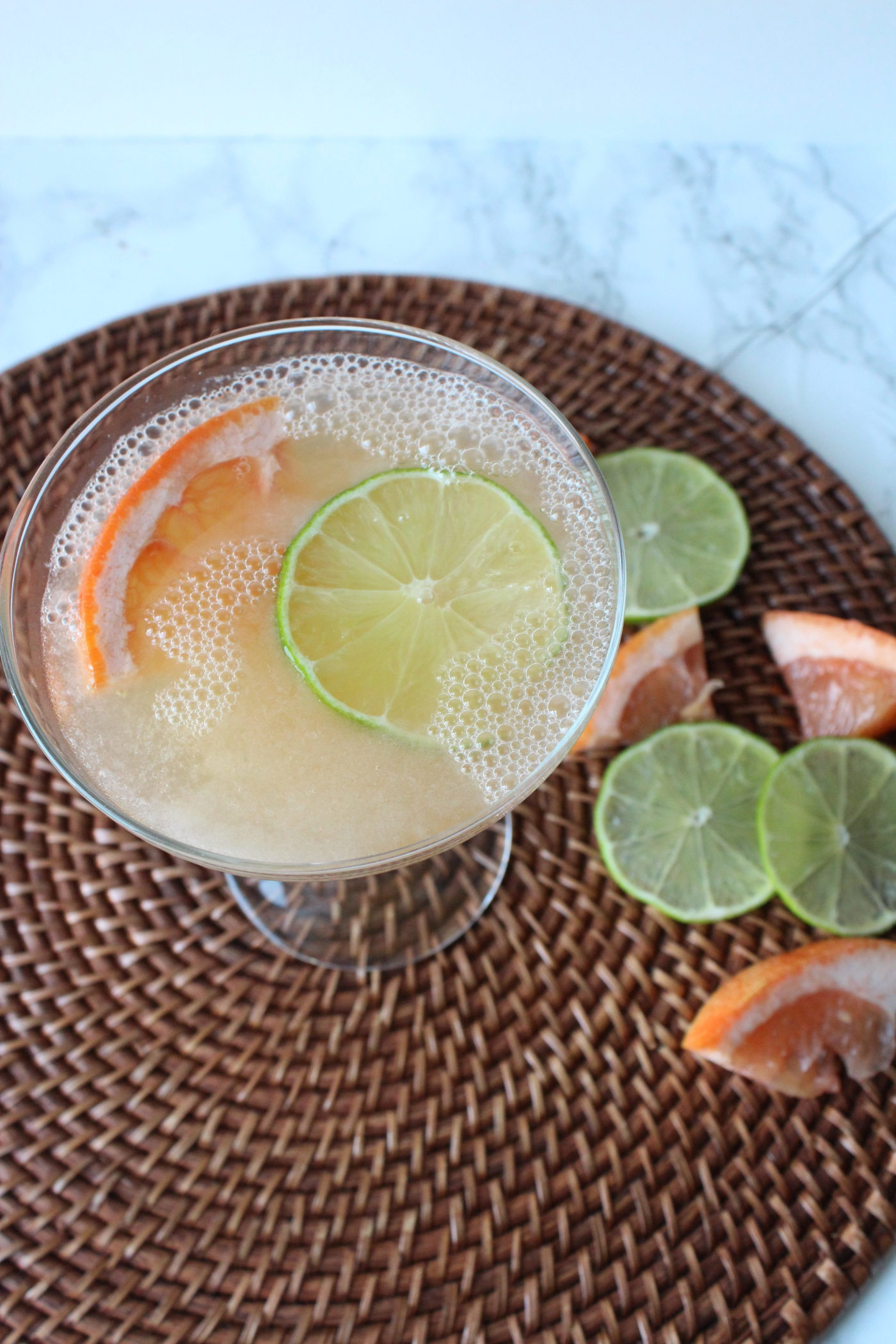 Frozen Paloma recipe - a refreshing beverage for summer | via Eat.Drink.Frolic.