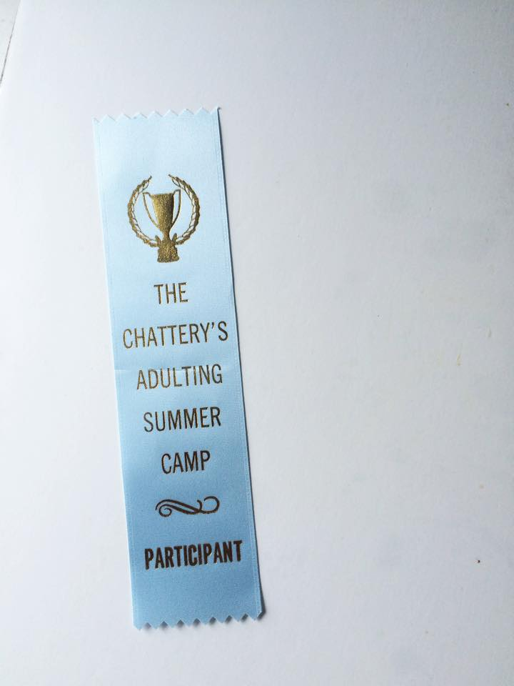 Adulting Summer Camp: The Chattery