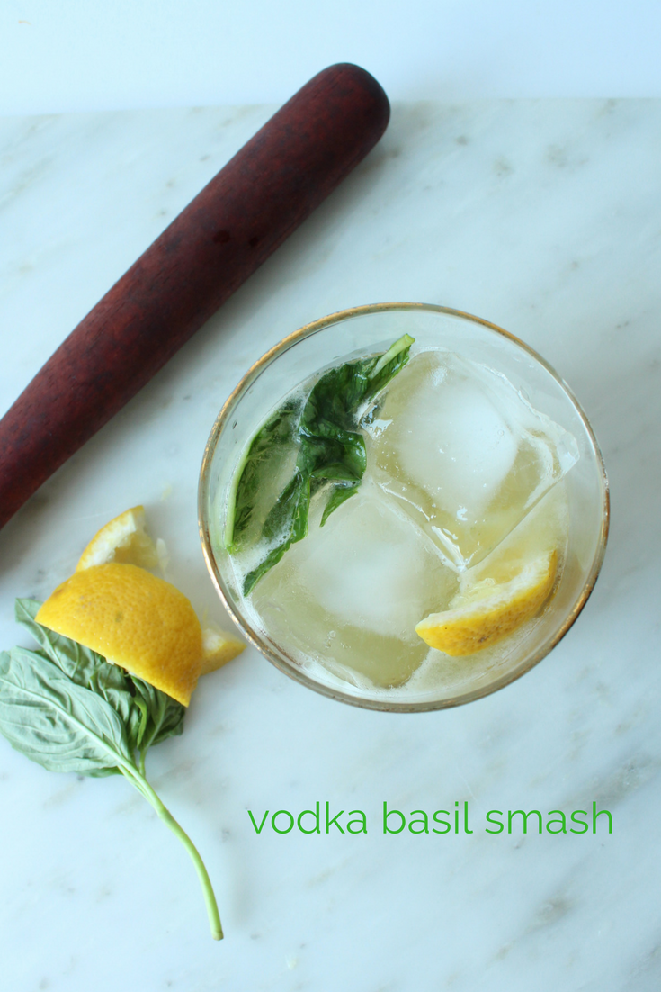 Vodka Basil Smash | Eat.Drink.Frolic.