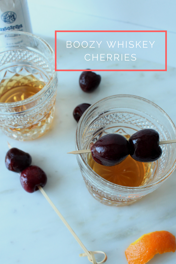 Boozy whiskey cherries | Eat.Drink.Frolic.