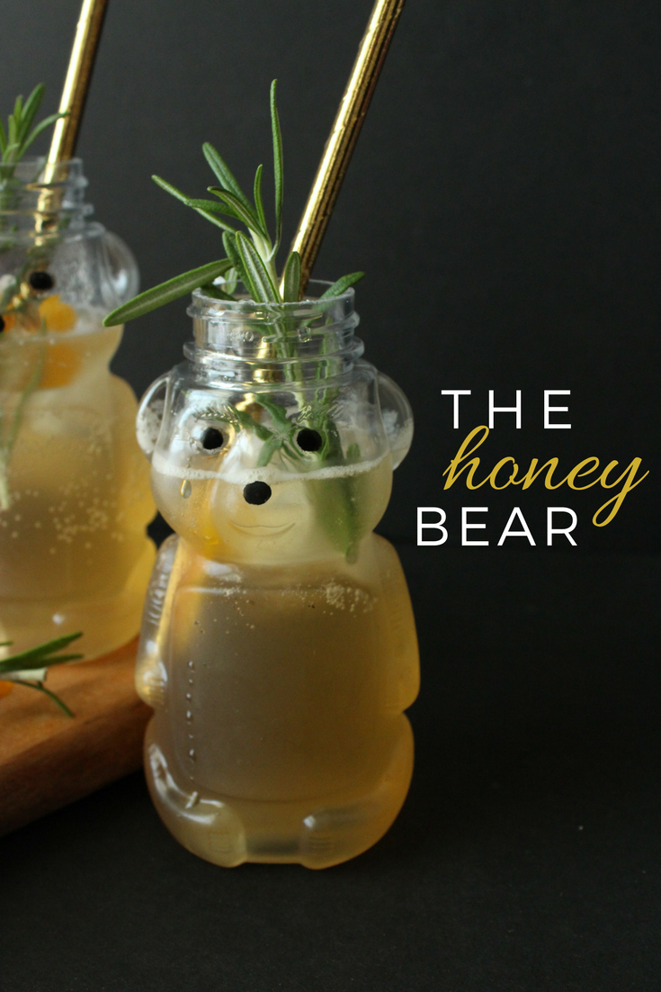 A simple whiskey cocktail recipe: The Honey Bear. | Eat.Drink.Frolic.
