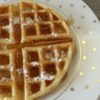 4-Ingredient Dutch Cream Waffle Recipe